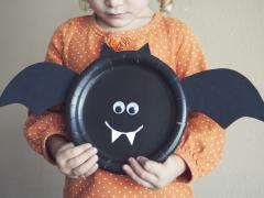 Paper Plate Halloween Crafts