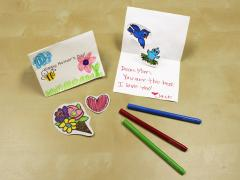 Mother's Day Pop-Up Printable Cards