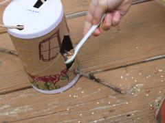 Salt Container Bird Feeder