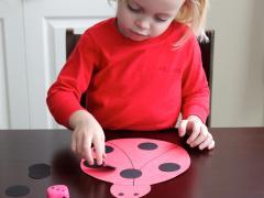 Roll a Ladybug Game