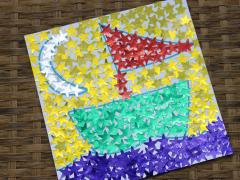 Sticker Mosaic Art