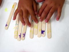 Craft Stick Puzzle