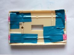 Button Light Switch Plate