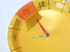 Not Your Average Paper Clock