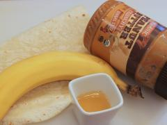 PB and Banana Wrap
