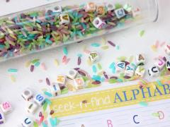 Seek-N-Find Alphabet Tube