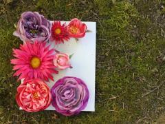 Flower Monogram Signs