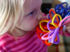 Simple Pipe Cleaner Flowers