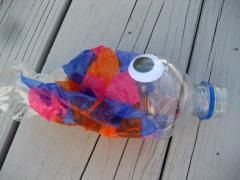 Water Bottle Fish Mobile