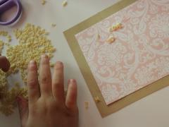 Letter Pasta Art
