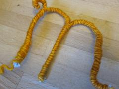 Bendable Pipe Cleaner Letters
