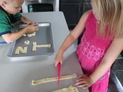 Alphabet Bread