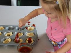 Cooking with Kids - Pizza Muffins