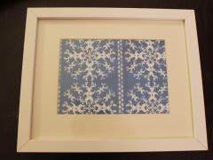 Picture Frame Winter Scene
