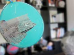 Papier Mache Trick-or-Treat Basket