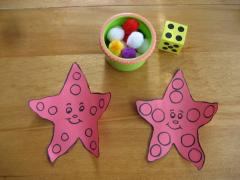 Starfish Counting Game