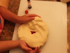 Candy Cane Dough