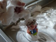 Shaving Cream + Toys Sensory Play
