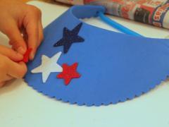 Fourth of July Visor Craft