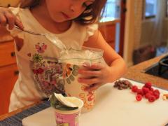Frosty Yogurt