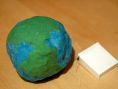 Play Dough + Dental Floss = an Earth Exploration (Two Ingredient Tuesday)