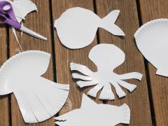 Paper Plate Sea Animals