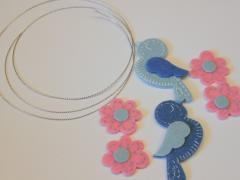 Foam Sticker Charm Necklace