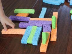 DIY Sponge Blocks and Fun Ways to Use Them