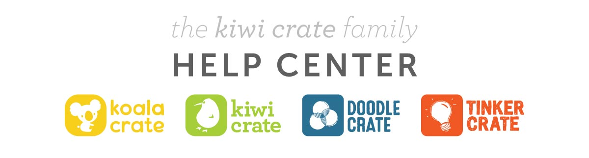 Kiwi Crate Family Help Center
