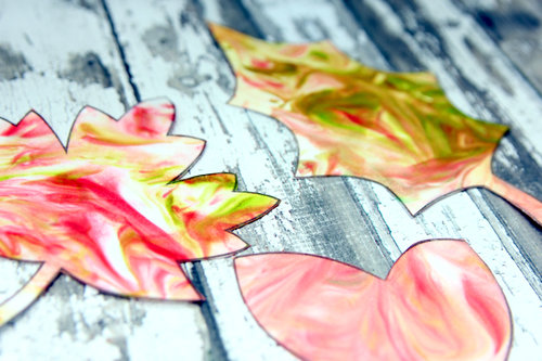 Marbled+Fall+Leaves