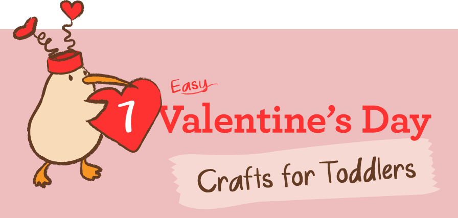 7 Easy Valentine\'s Day Crafts for Toddlers | KiwiCo