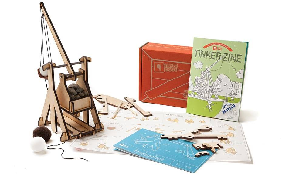 Tinker Crate From Kiwico Science Engineering Ages 9 16