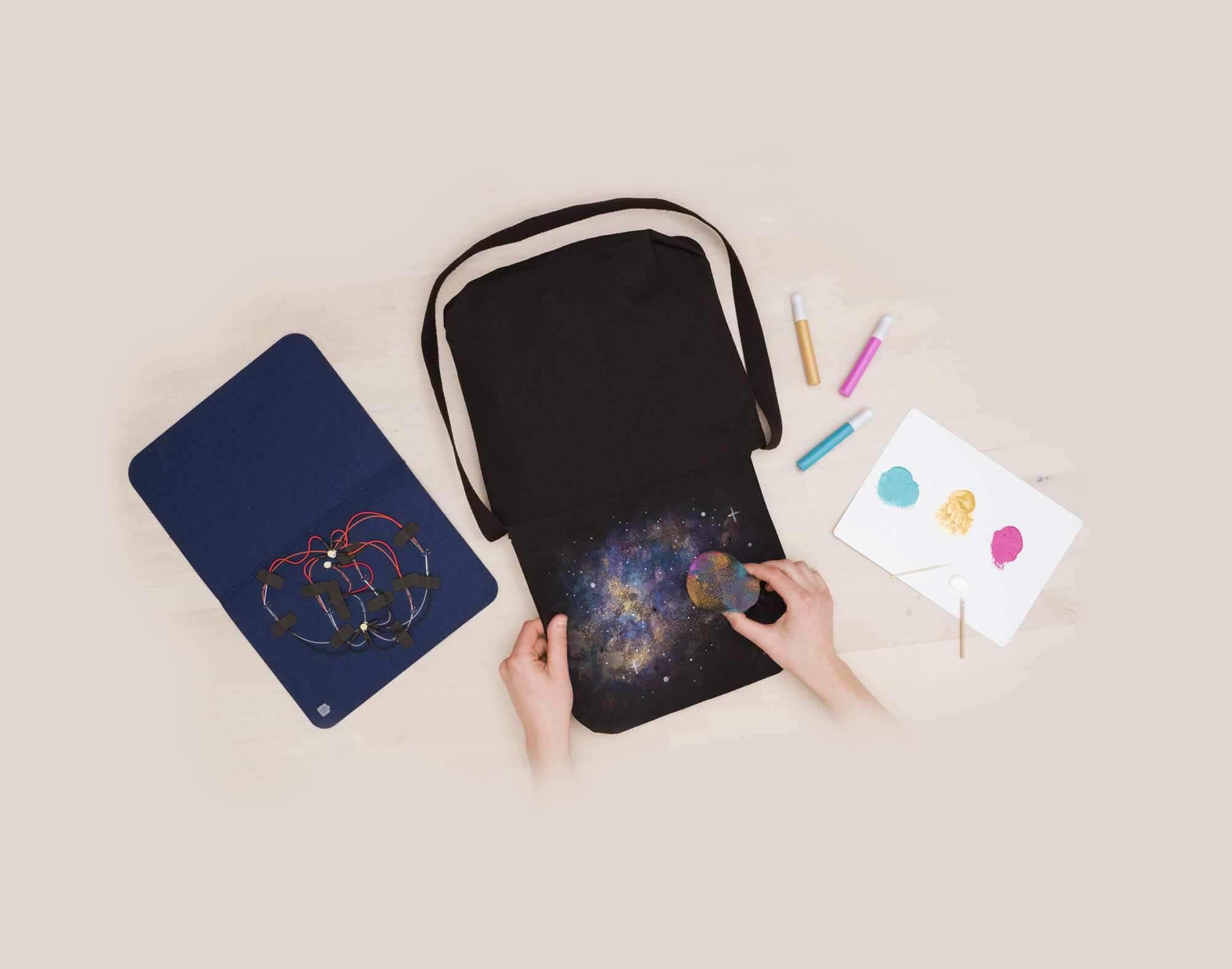 Constellation Messenger Bag
