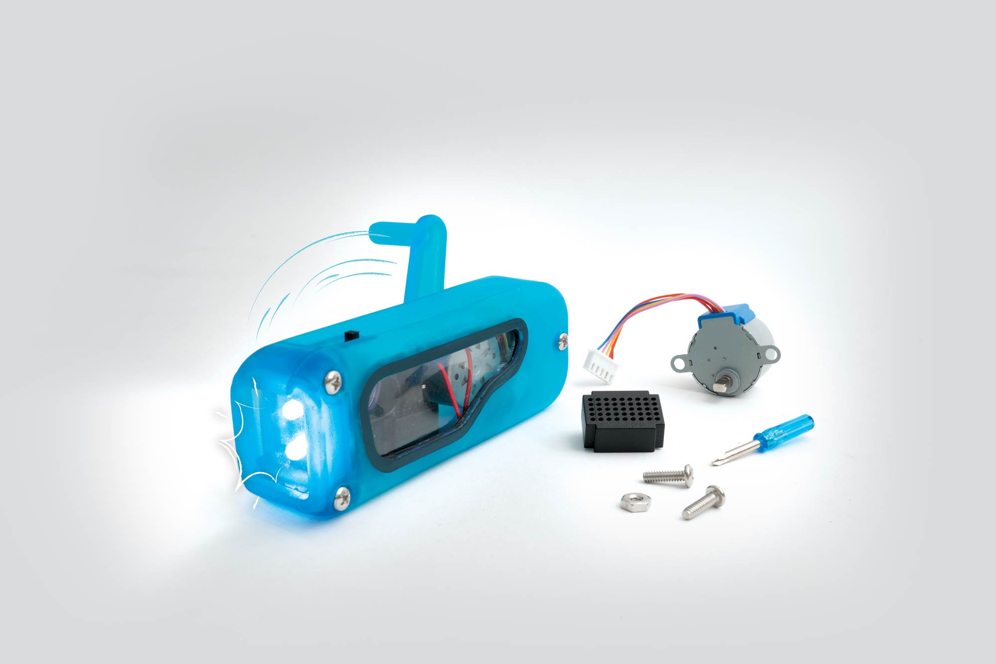 Hand-Crank Flashlight