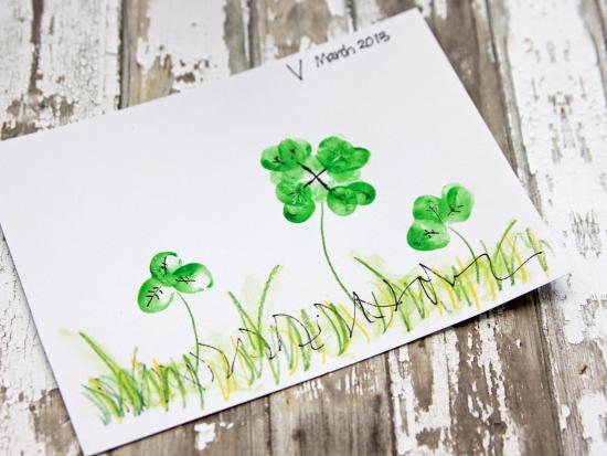 st-patricks-day-projects-kids-clover-leaf-fingerprint