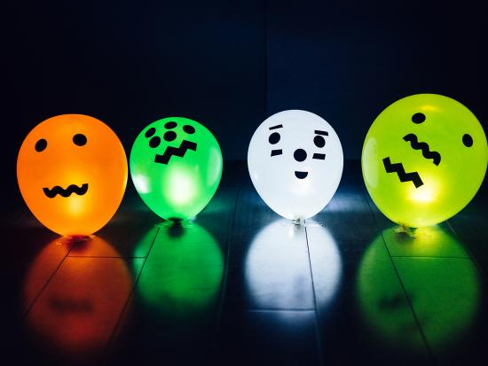 balloon halloween decoration kids diy