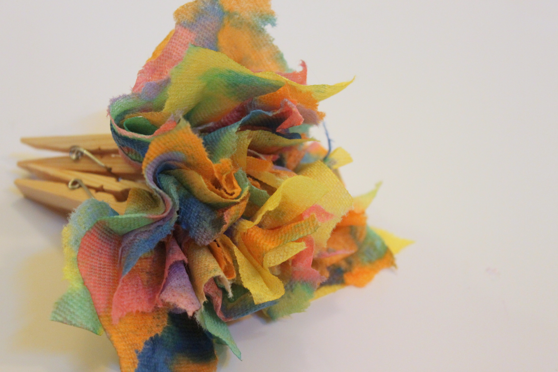 Paper Towel Flower