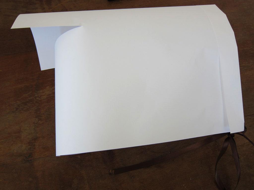 Simple Paper Pilgrim Bonnet