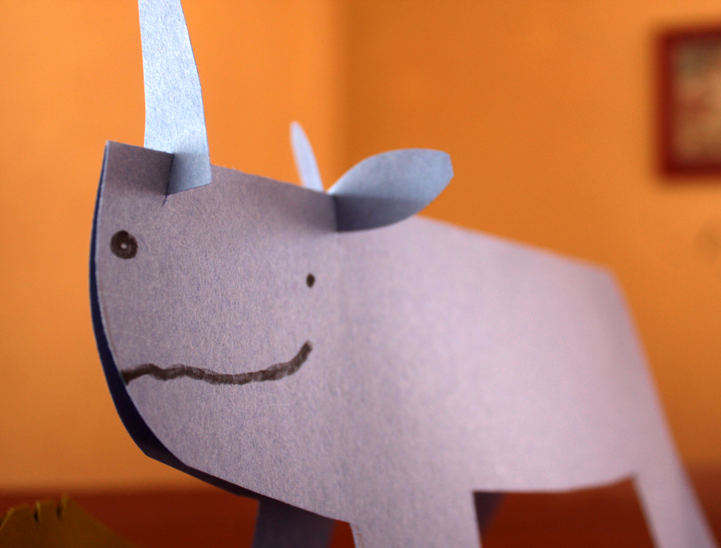 Folded Paper Animals