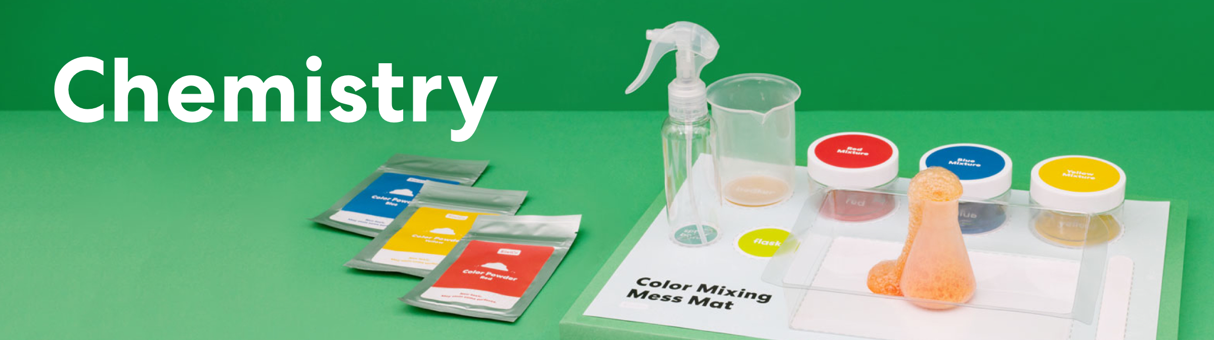 Shop Chemistry projects for all ages.