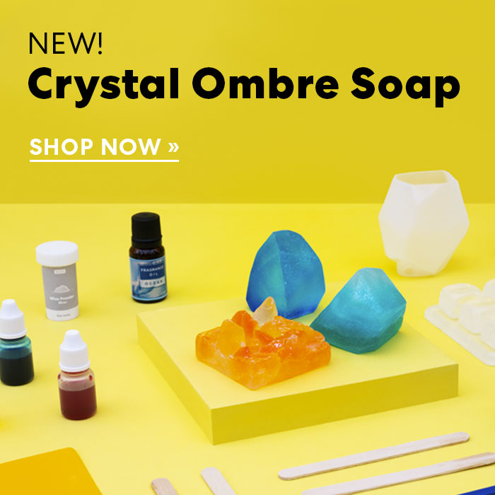 Shop Crystal Ombre Soap Making