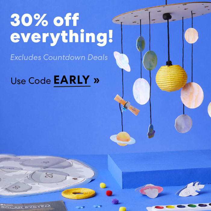 Save thirty percent in Store with code EARLY