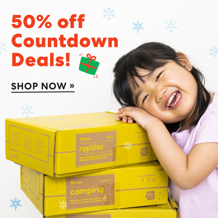 Save fifty percent on countdown deals