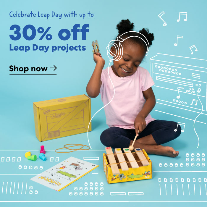 Celebrate Leap Day with KiwiCo favorites
