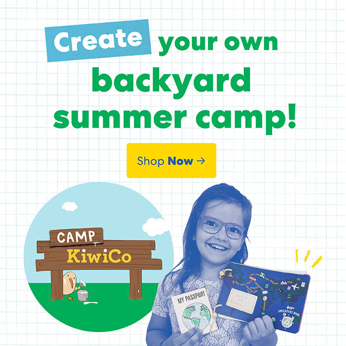 Create your own backyard camp
