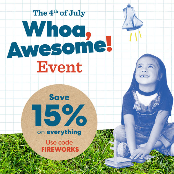 Save fifteen percent off sitewide