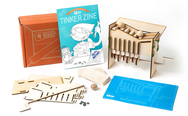 Tinker Crate Subscription Box.